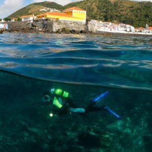 Mergulho com escafandro - Atividades Ilha de São Jorge Açores