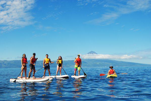 Stand Up Paddle - Ilha de São Jorge - Açores
